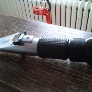 New Toy: Refractometer!