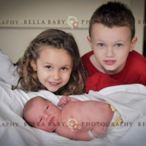 Garret, Gracie, and Grant Bella Photography