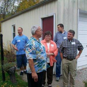 Mark(Midwest Vintner), Gary(Marks Dad), Carol(Garys Wife), Chris(ckassotis - in the back), Gary(garymc)
