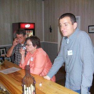 Gary(garymc - farthest to the left), Carol(Garys wife), Chris(ckassotis)