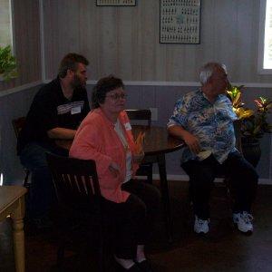 Ron(Ron22 - in the corner), Carol(Garys wife), Gary(Marks Dad)