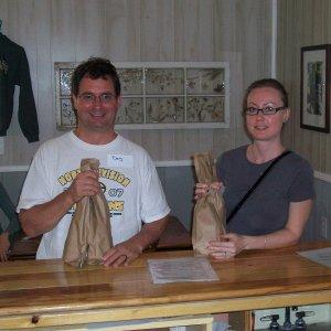 Doug(Beer and Wine Supply), Rachel(Dougs Wife)